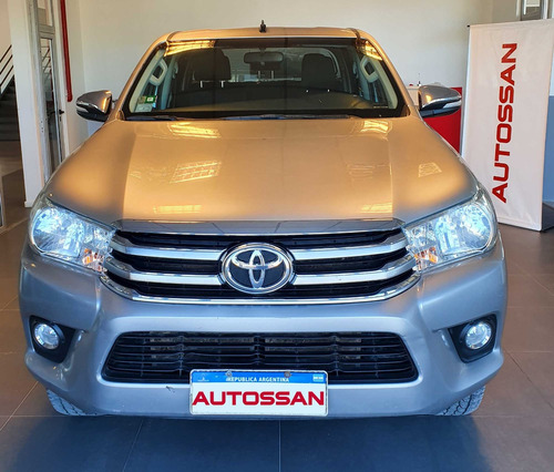 toyota hilux srv 4x4 at 2016 impecable oportunidad