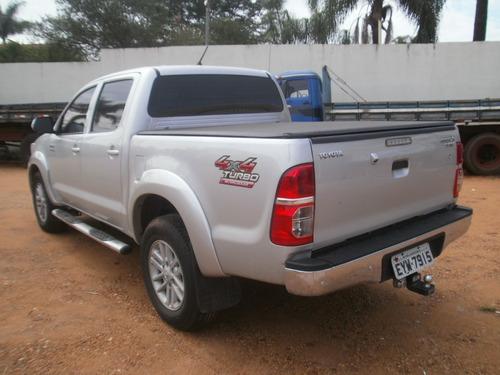 toyota hilux srv diesel 4x4 ano 2012 automatica blindada n3