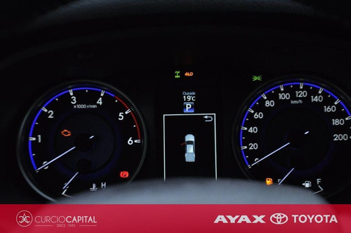 toyota hilux srv diesel 4x4 automática 2020 gris oscuro 0km