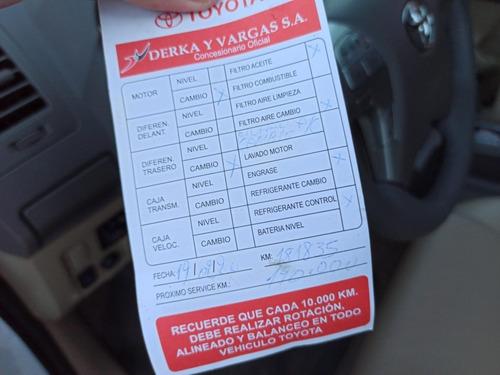 toyota hilux sw4 2.7 4x2 srv 7as cuero at 2013.oportunidad!!