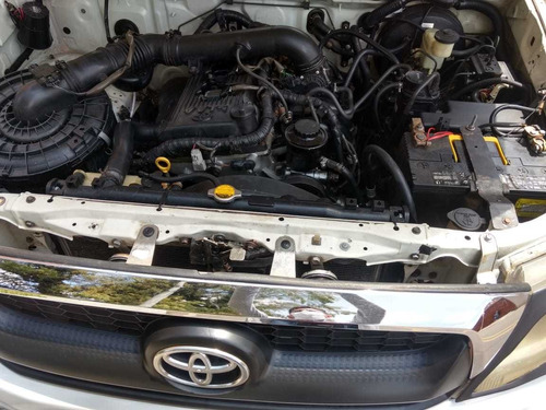 toyota hilux vigo motor 2.7 gasolina 2009 4x4 blanca 4 ptas