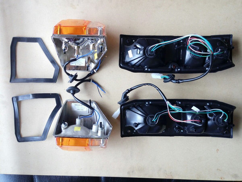 toyota land cruiser 4.5/caresapo/carevaca/fj75 set de luces