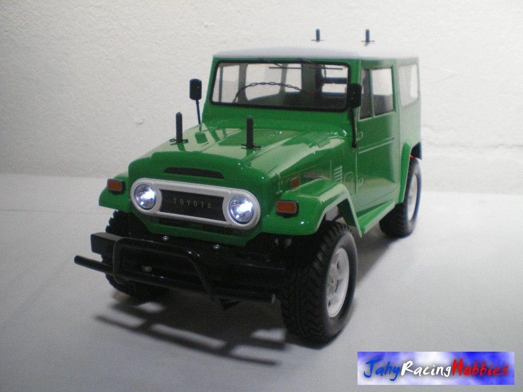 Toyota Land Cruiser Bandeirantes 1974 Verde E Branca Rtr. Carregando Zoom.