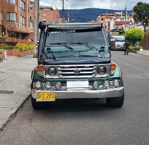 toyota land cruiser camioneta macho económica barata negocia