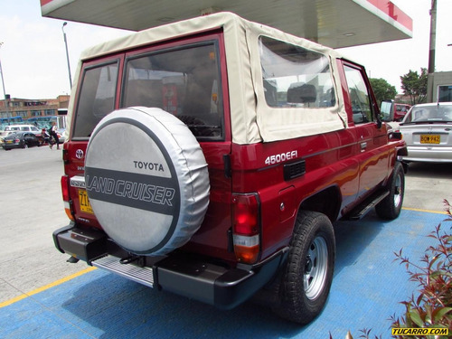 toyota land cruiser fzj75 mt 4500cc
