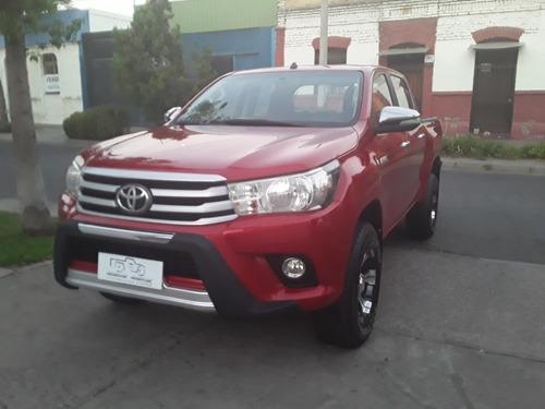 toyota new hilux 2.4 diesel 4x2 sr año 2017 full