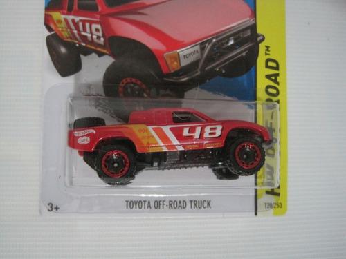 toyota off road truck hotwheels mattel diecast