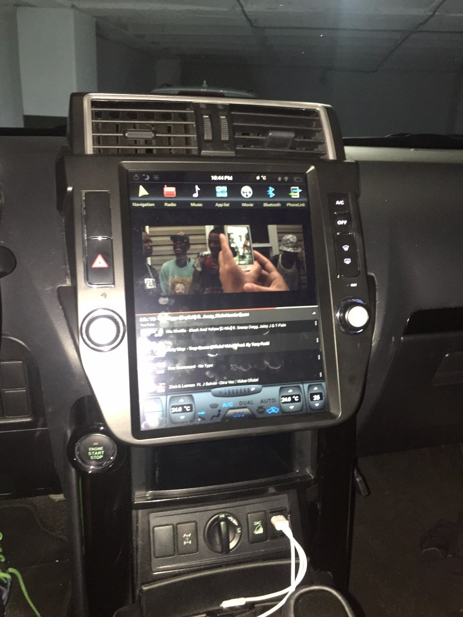 Toyota Prado Radio 2014 2015 2016 2017 Android 2 100