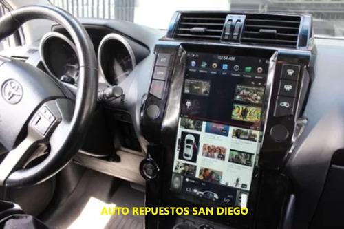 toyota prado radio gps 2010-2013 android 13.6 pulgadas