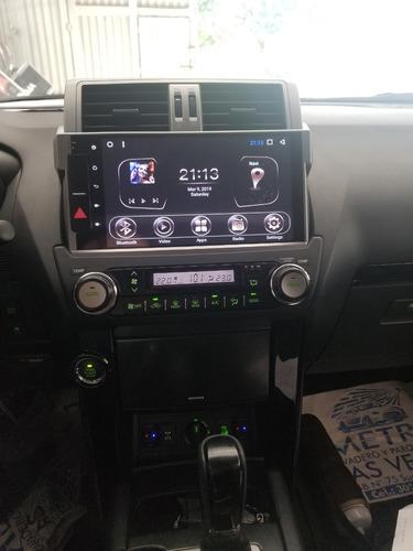 toyota prado radio gps  android 2014/2017 10 pulgadas
