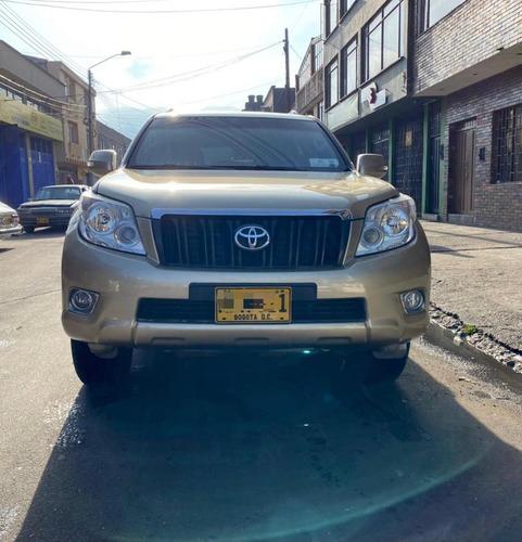 toyota prado tx, motor 3.0 2013 beige 5 puertas, blindada