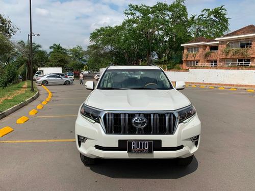 toyota prado vxl europea 3.0 diesel blanca modelo 2019 0km