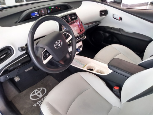 toyota prius premium 2018 color plata automático