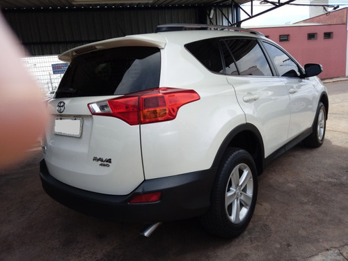 toyota rav4 2.0 4x4 aut. 5p branco perola 2013