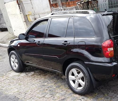 toyota rav4 2.0 aut 2005 4x4 preta 05
