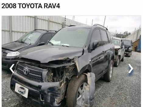 toyota rav4 2.4 4x4 aut. 5p 2008