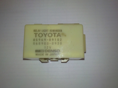 toyota rele light reminder 85969-89101