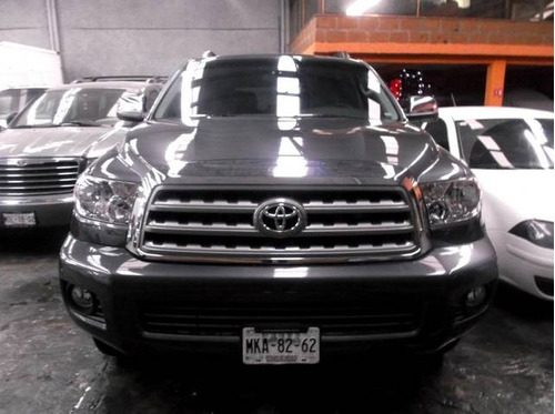 toyota sequoia limited aa r-20 piel qc dvd at 2012