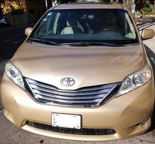 toyota sienna 2011 xle puel limited acepto auto a cambio