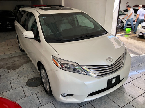 toyota sienna 3.5 limited at perla 2017 piel quemacocos dvd