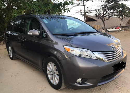 toyota sienna limited piel limited qc dvd at