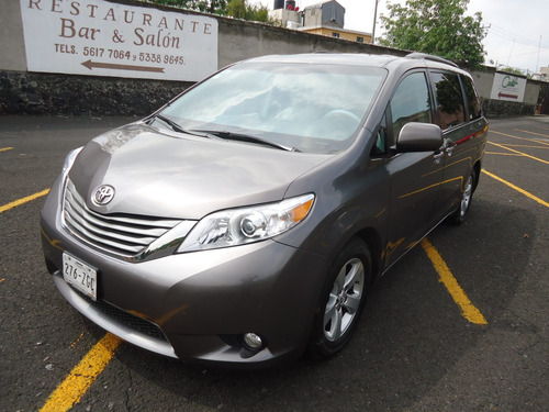 toyota sienna xle limited qc piel 2014 (impecable)