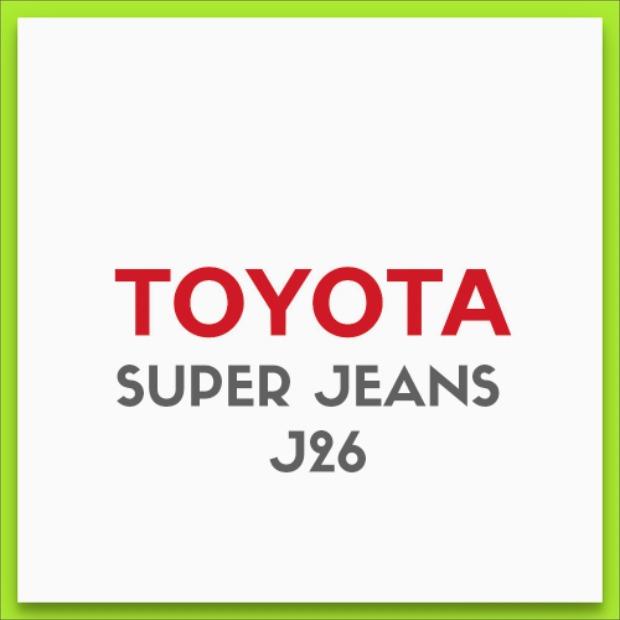 Toyota Super Jeans J26 Maquina De Coser 26 Puntos + Strech ...