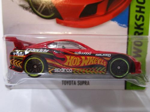 toyota supra escala pequeña coleccion  hot wheels r52a