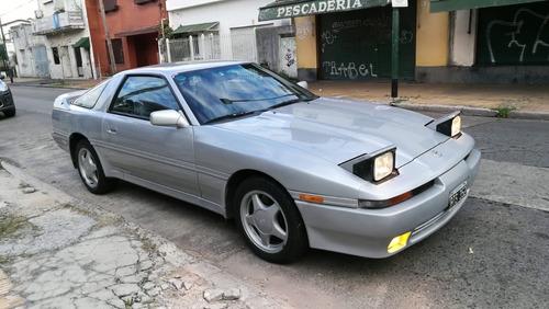 toyota supra ma70l 3.0 coupé 1991 gris nafta impecable