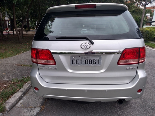 toyota sw4 3.0 srv 7l 4x4 aut. ano 2008 turbo diesel