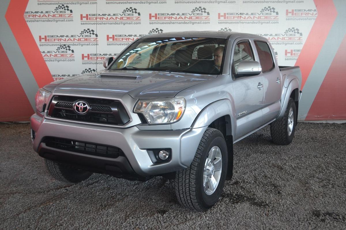 Toyota Tacoma 2014 Trd Sport 3 5 4x2 Plata 345 000 En