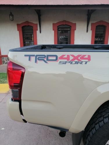 toyota tacoma 3.5 trd sport 4x4 at 2019