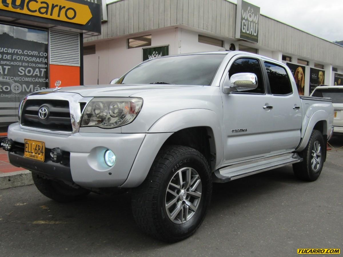 toyota tacoma prerunner mt 4000cc 4x4 en tucarro. Black Bedroom Furniture Sets. Home Design Ideas