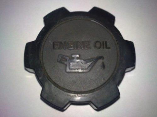 toyota tercel  tapa de aceite del motor (original)