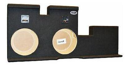 toyota tundra doble cabina doble 10'' gabinete sub caja-0206