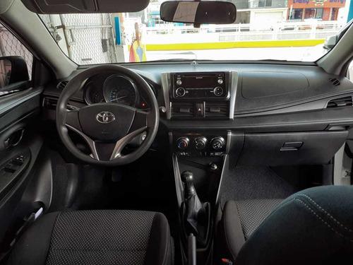 toyota yaris sedan std. mod. 2017