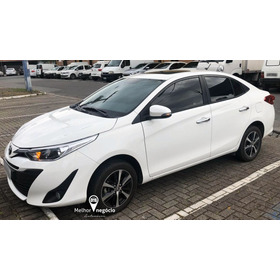 Toyota Yaris Xls Sedan 1.5 16v Flex Aut. 2019 Branco
