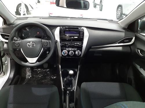 toyota yaris xs sedan 4 puertas adjudicado anticipo y cuotas
