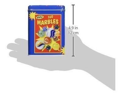toysmith canicas en una caja de la lata (160-cuenta)