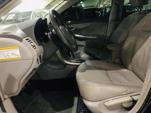 toytora corolla xei 2.0 flex 16v aut. 2011 preto completo