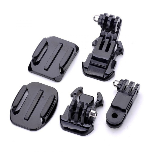 toz tz-gp156 grab bag of mounts for gopro hero 4/ 3+ / 3 / 2