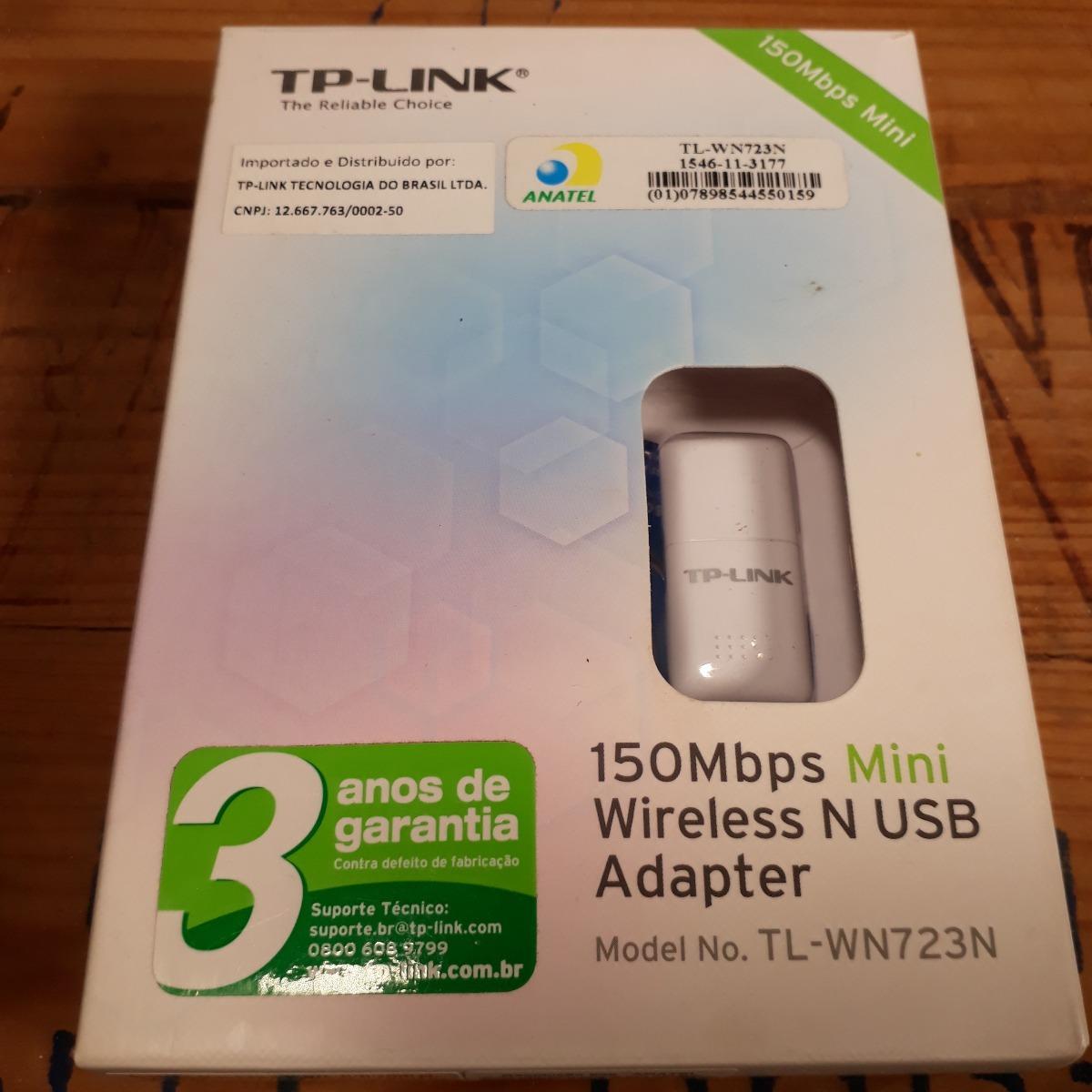 Tp Link 150 Mbps Mini Wireless N Usb Adapter Semi Novo R 3500 Em Wifi Wn723n Carregando Zoom