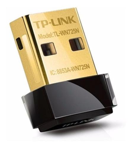 tp-link adaptador usb wifi 150mbts nano tl-wn725n