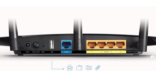 tp-link archer c1200 router gigabit inalámbrico doble banda