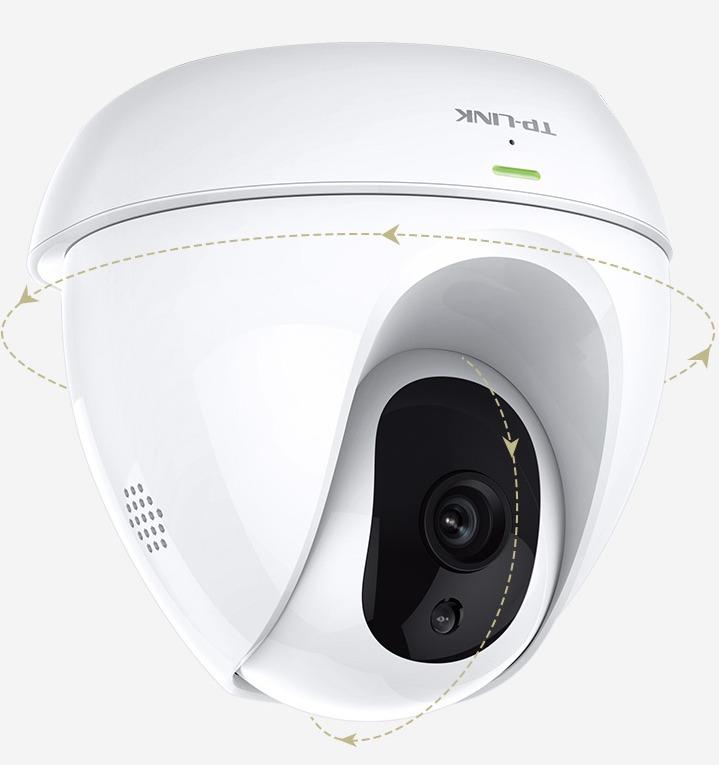 Tp-link Camera Pan/tilt Hd Nc450 300mbps Wifi Visao Noturn