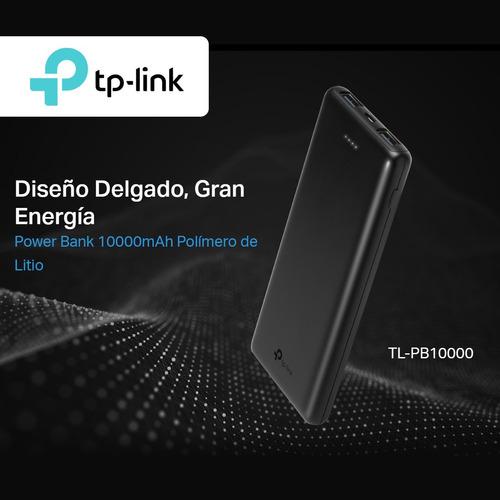 tp-link, cargador portátil power bank 10000mah, tl-pb10000