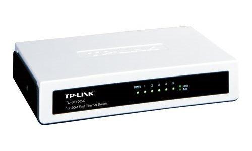 tp-link conmutador de escritorio fast ethernet de 5 puertos
