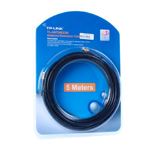 tp link extension cable 5 metros rp-sma n macho tl-ant24ec5s