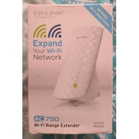 Tp-link, Extensor De Rango Wifi Banda Dual Ac750, Re200