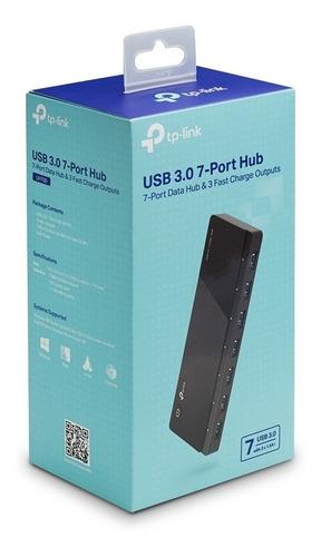tp-link hub usb 3.0 uh700 7 portas velocidades de até 5gbps
